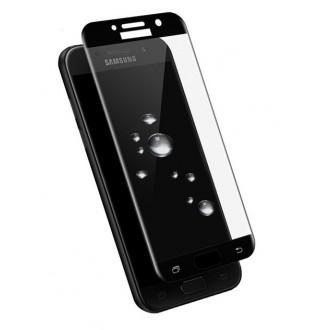 LCD apsauginis stikliukas 5D Full Glue Samsung A72 lenktas juodas