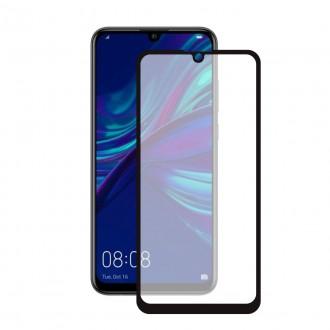 """5D juodas apsauginis grūdintas stiklas Huawei P Smart 2019 telefonui """"Full Glue"""""""