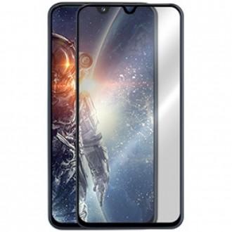 """5D Juodas apsauginis grūdintas stiklas Samsung Galaxy A202 A20e  telefonui """"Full Glue"""""""