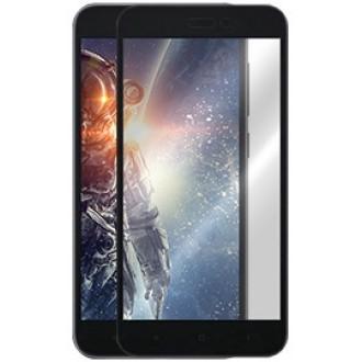 """5D Juodas apsauginis grūdintas stiklas Xiaomi Redmi GO telefonui """"Full Glue"""""""
