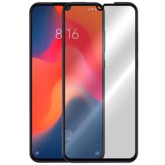 """5D Lenktas juodas apsauginis grūdintas stiklas Xiaomi Mi 9 '' telefonui """"Full Glue"""""""