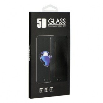 LCD apsauginis stikliukas 9H 5D Huawei P Smart Pro juodas