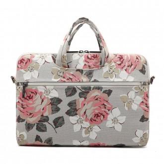 Nešiojamo kompiuterio krepšys 13'' - 14'' WHITE ROSE