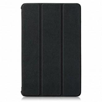 Juodos spalvos dėklas Lenovo Tab M10 Plus 10.3 ''TECH-PROTECT SMARTCASE''