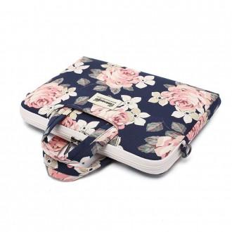 Nešiojamo kompiuterio krepšys 13'' - 14'' BLUE CAMELLIA