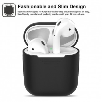 "Baltas dėklas APPLE AIRPODS ""TECH-PROTECT''"