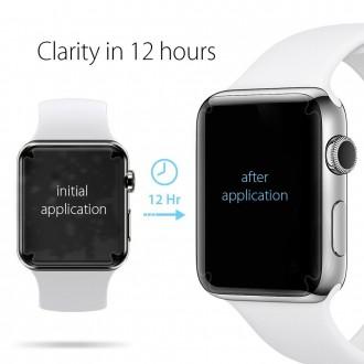 """Apsauginės ekrano plėvelės Apple Watch 1/2/3 (38MM) telefonui """"Spigen Neo Flex HD"""" 3vnt"""
