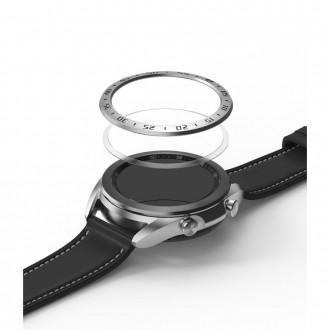 "Sidabrinis dangtelis Samsung Watch 3 (41MM) ""Ringke Bezel"""