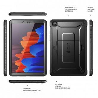 "Juodas deklas Samsung Galaxy TAB A7 LITE 8.7 T220 / T225 ""Supcase Unicorn Beetle Pro"""