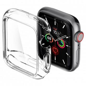 """Skaidrus dėklas laikrodžiui Apple Watch 4/5 (40MM) """"Spigen Thin Fit"""""""