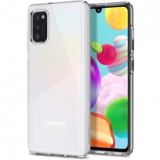 "Skaidrus dėklas Samsung Galaxy A41 telefonui ""Spigen Liquid Crystal"""
