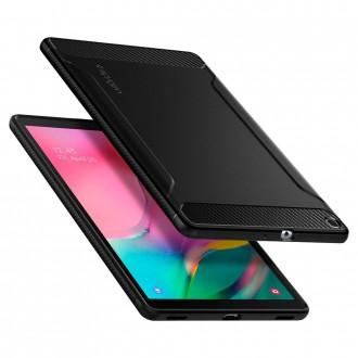 Juodas dėklas Samsung Samsung T510 / T515 Tab A 10.1 2019