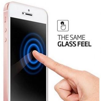 "Skaidrus apsauginis grūdintas stiklas Apple Iphone 7 / 8 / SE 2020 telefonui ""Spigen Glas.Tr Slim"""