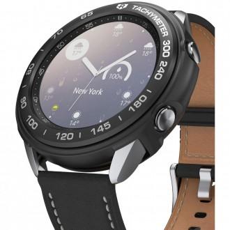 """Juodas dėklas laikrodžiui Samsung Watch 3 (41MM) """"RINGKE AIR & BEZEL STYLING"""""""