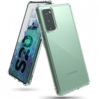 "Skaidrus dėklas Samsung Galaxy S20 FE telefonui ""RINGKE FUSION GALAXY S20 FE CLEAR"""