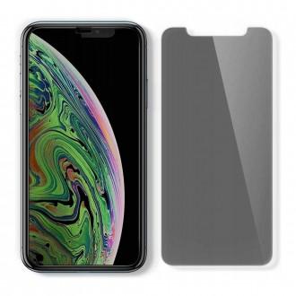 """Privatumą suteikiantis apsauginis grūdintas stiklas """"Spigen Glass.Tr PRIVACY"""" telefonui iPhone 11"""