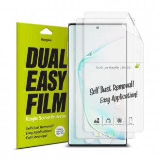"""Apsauginė ekrano plėvelė """"Ringke Dual Easy"""" Samsung Galaxy Note 10 Plus telefonui"""