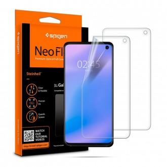 "Apsauginė ekrano plėvelė ""Spigen neo flex"" Samsung Galaxy S10 telefonui"