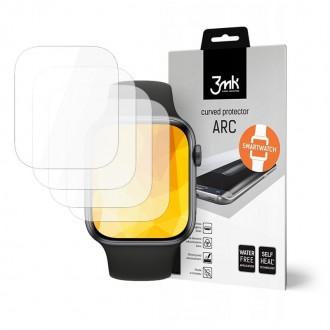 """Apsauginė plėvelė """"3MK Watch ARC"""" Apple Watch 4 (44mm) laikrodžiui 3vnt"""