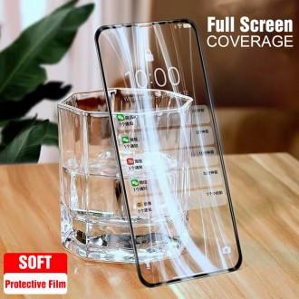 Apsauginis stikliukas juodais kraštais ''Full Glue Ceramic Glass'' telefonui Apple iPhone 12 / 12 Pro
