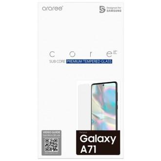 """Apsauginis ekrano stikliukas """"Araree Sub Core"""" Samsung Galaxy A715 A71 telefonui"""