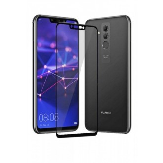 Apsauginis grūdintas stiklas ''9D Full Glue '' Huawei Mate 20 Lite telefonui