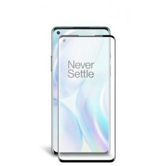 Apsauginis grūdintas stiklas ''5D Full Glue '' OnePlus 8 telefonui