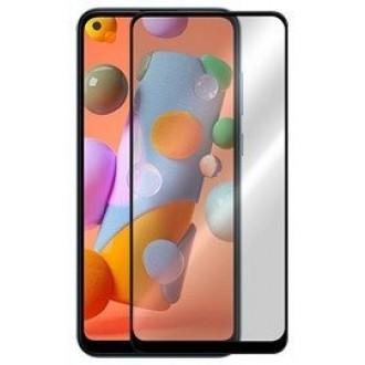 Apsauginis grūdintas stiklas ''5D Full Glue '' Samsung Galaxy A11 telefonui HQ Quality