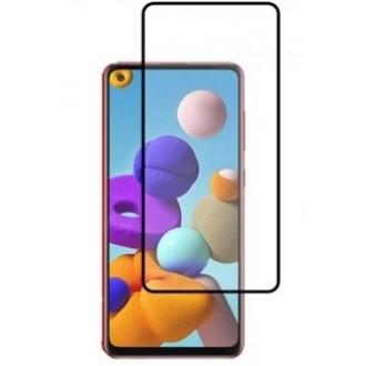 Apsauginis grūdintas stiklas ''5D Full Glue '' Samsung Galaxy A217 A21s telefonui