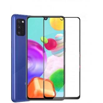Apsauginis grūdintas stiklas ''9D Full Glue '' Samsung Galaxy A41 telefonui