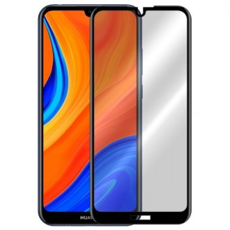 Apsauginis grūdintas stiklas ''9D Full Glue '' Huawei Y6S 2019 telefonui
