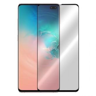 Apsauginis grūdintas stiklas ''9D Full Glue '' Samsung Galaxy G975 S10 Plus telefonui