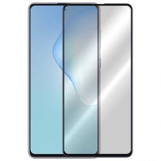 Apsauginis grūdintas stiklas ''9D Full Glue '' Samsung Galaxy Note 10 Lite / A81 telefonui