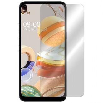 Apsauginis grūdintas stiklas LG K61 telefonui