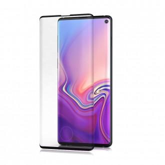 """Apsauginis stikliukas """"BeHello High Impact Glass"""" Samsung Galaxy G973 S10 telefonui (Su išpjovimu piršto antspaudui)"""