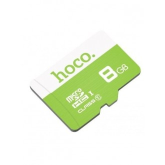 Atminties korta HOCO MicroSD 8Gb (class 10) be adapterio