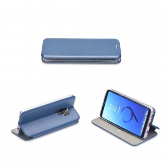 Tamsiai mėlynas atverčiamas dėklas ''Book Elegance'' telefonui iPhone 13 pro