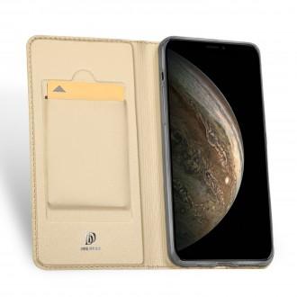 """Atverčiamas Dėklas """"Dux Ducis Skin Pro"""" Samsung XCOVER 5 aukso spalvos"""