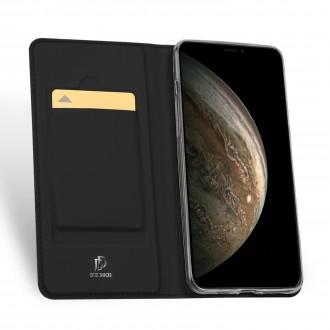 """Atverčiamas Dėklas """"Dux Ducis Skin Pro"""" Huawei P Smart 2021, juodas"""