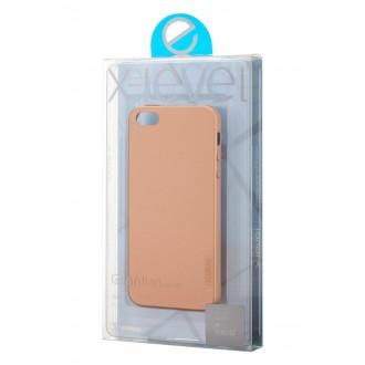 Auksinės spalvos dėklas X-Level Guardian Apple iPhone 5 telefonui