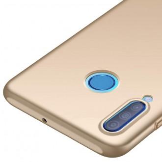 Auksinės spalvos dėklas X-Level Guardian Huawei P30 Lite telefonui