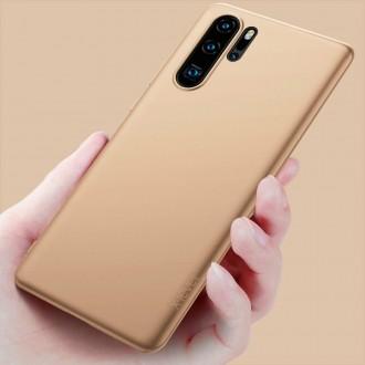 Auksinės spalvos dėklas X-Level Guardian Huawei P30 Pro telefonui