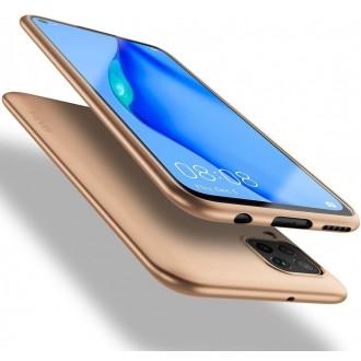Auksinės spalvos dėklas X-Level Guardian Huawei P40 Lite / Nova 6 SE / Nova 7i telefonui