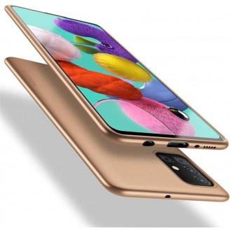 Auksinės spalvos dėklas X-Level Guardian Samsung Galaxy A41 telefonui