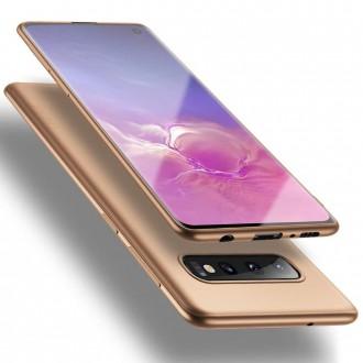 Auksinės spalvos dėklas X-Level Guardian Samsung Galaxy G973 S10 telefonui