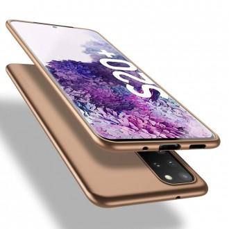 Auksinės spalvos dėklas X-Level Guardian Samsung Galaxy G986 S20 Plus telefonui