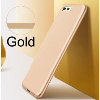Auksinės spalvos dėklas X-Level Guardian Samsung Galaxy S10 Lite / A91 telefonui