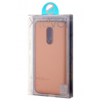 Auksinės spalvos dėklas X-Level Guardian Xiaomi Redmi 5 Plus telefonui