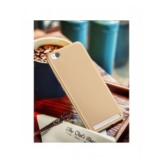 Auksinės spalvos dėklas X-Level Guardian Xiaomi Redmi 5A telefonui