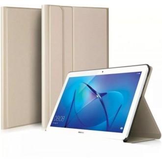 """Auksinis, atverčiamas dėklas """"Folio Cover"""" Huawei MediaPad T5 10.0"""